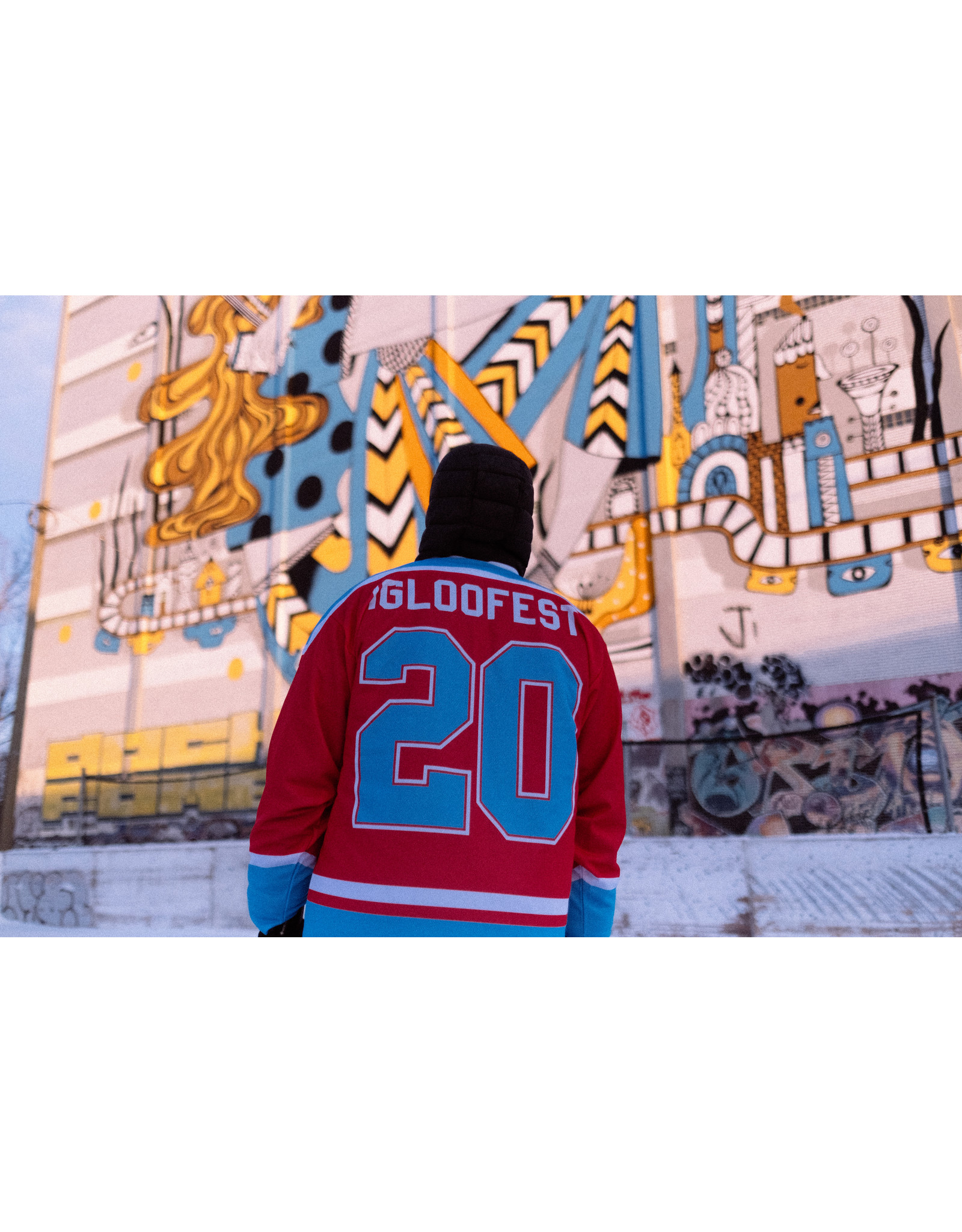 Grenadine Red Hockey Sweater | 2020 Collection