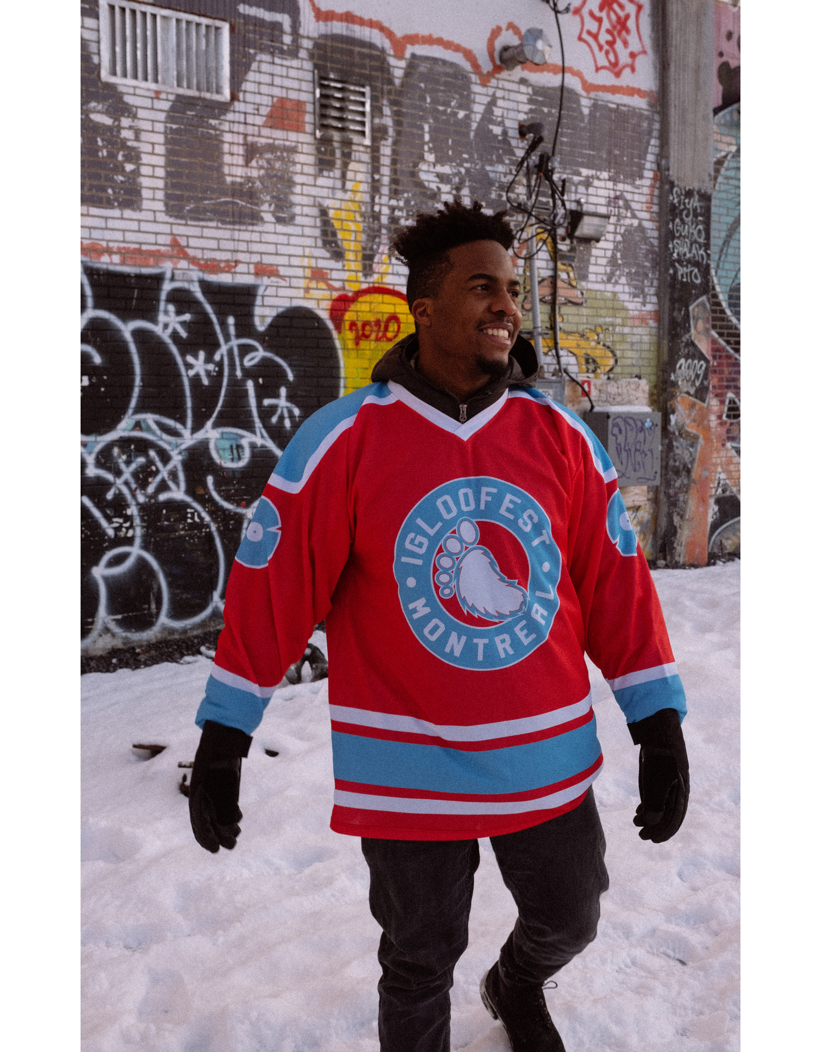 Grenadine Red Hockey Sweater   2020 Collection