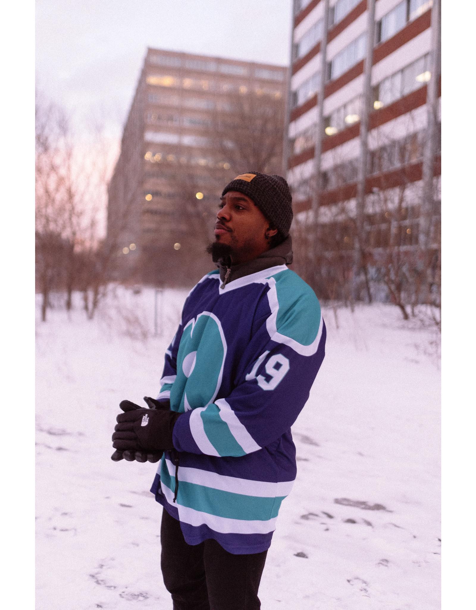 Chandail de Hockey - Mauve    Collection 2019