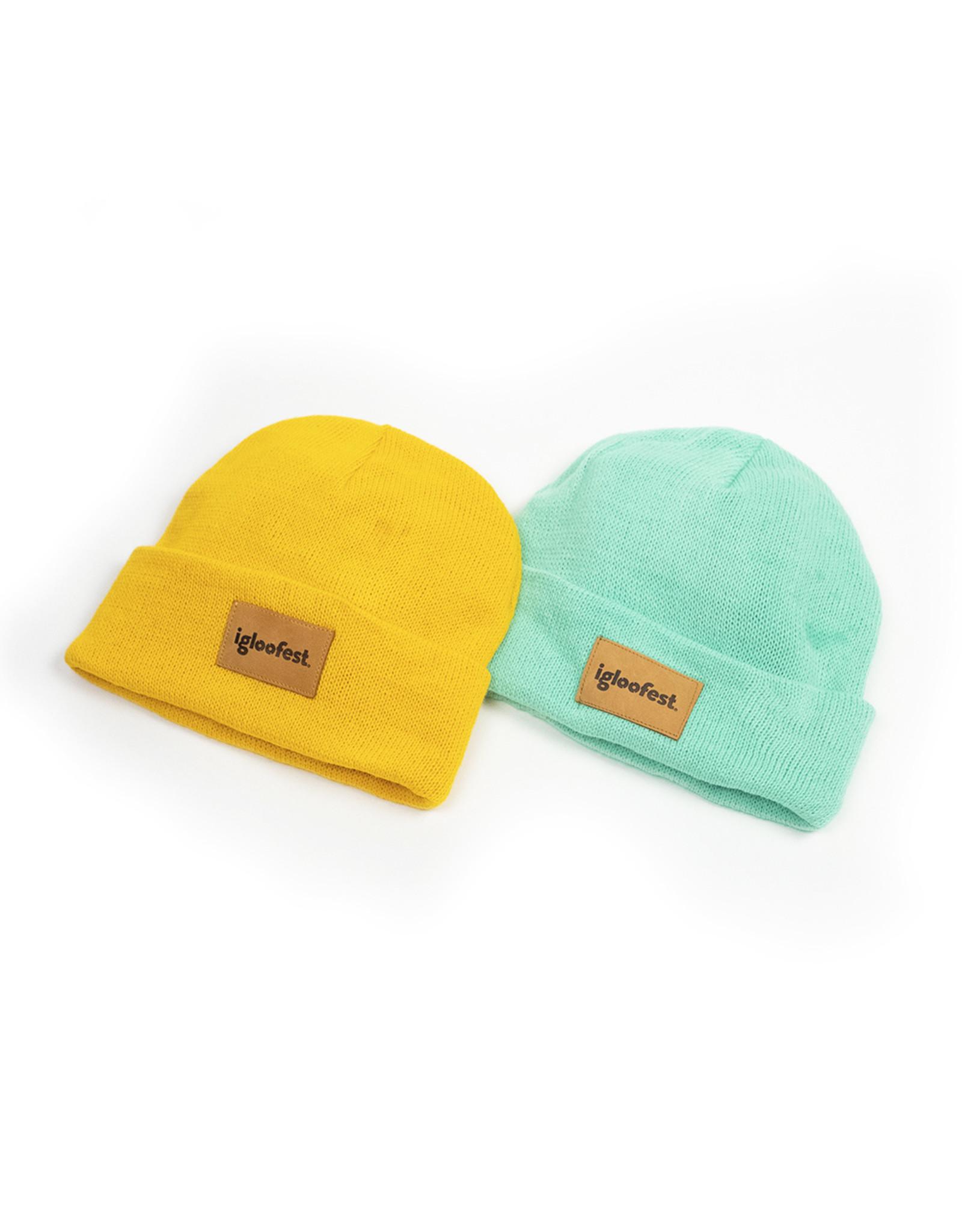 Mustard Yellow Fisherman Beanie | 2020 Collection