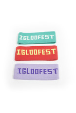 Igloofest Red Headband |  2015 Collection