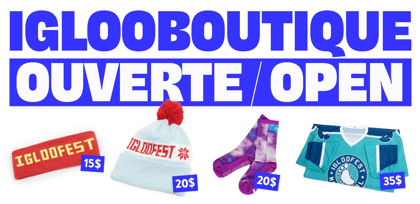Igloofest | Boutique en ligne