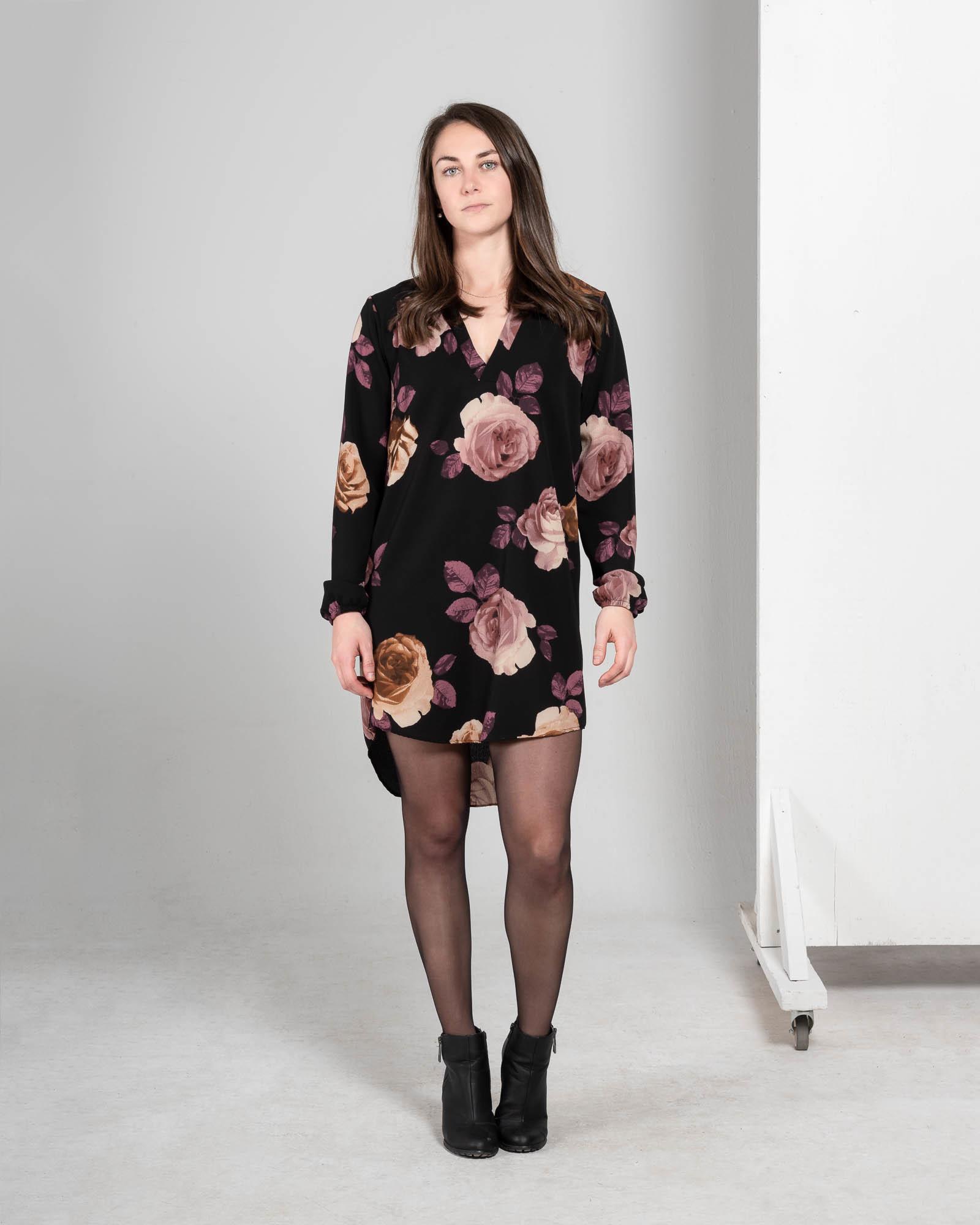 Tianna - dress long sleeves-1