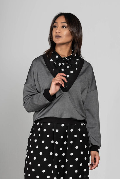 Anisa- Dress with polka dots