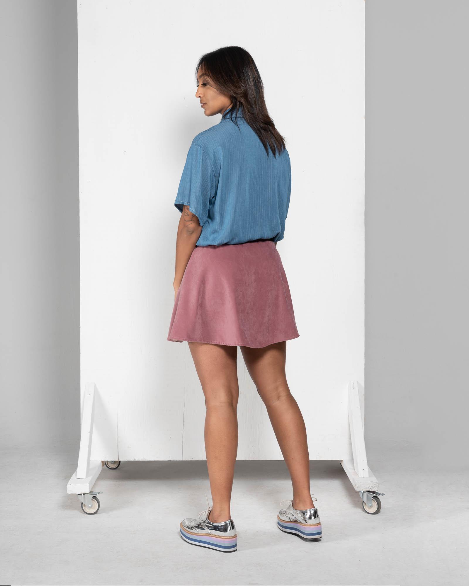 Lily - denim shirt-2