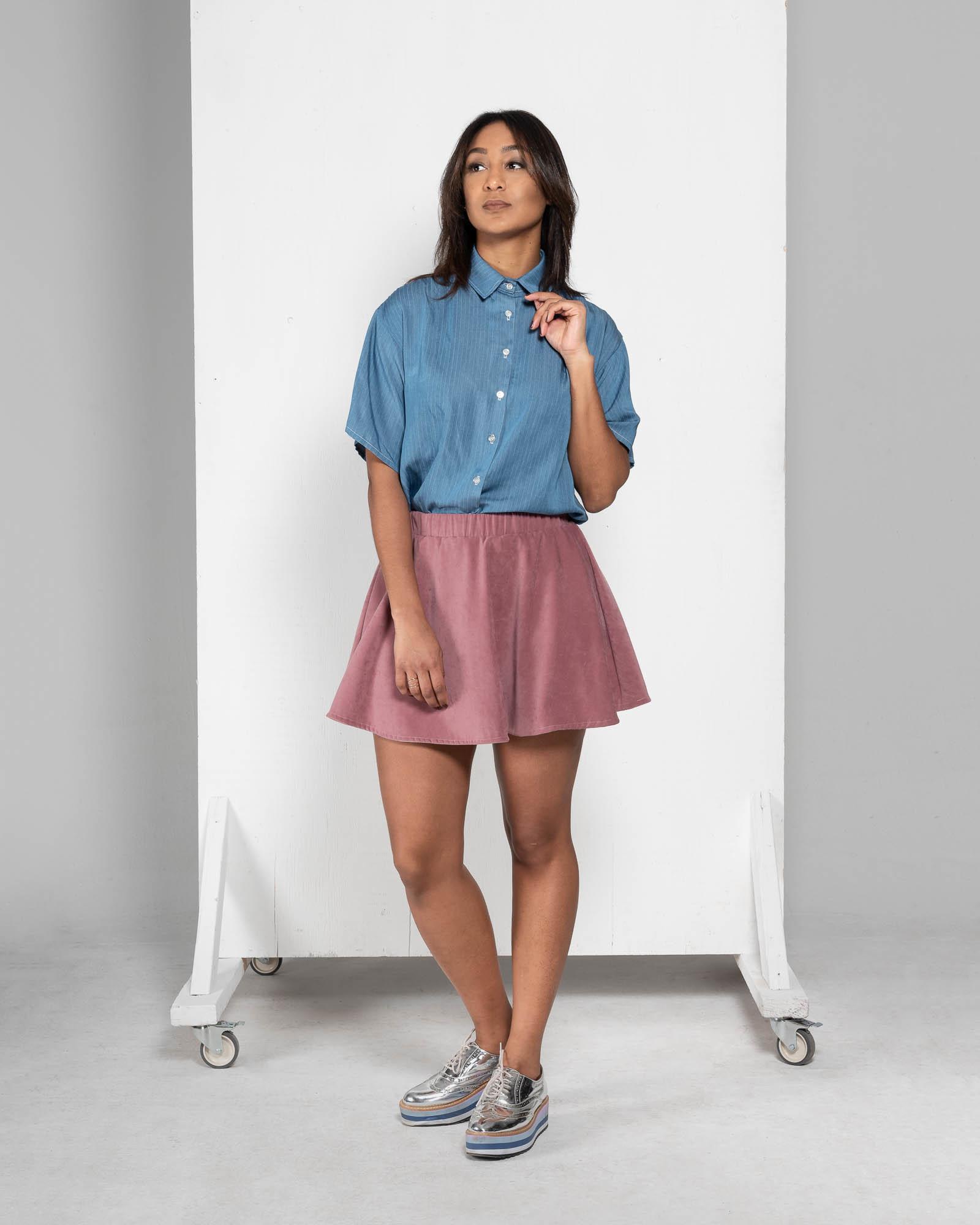 Lily - denim shirt-3