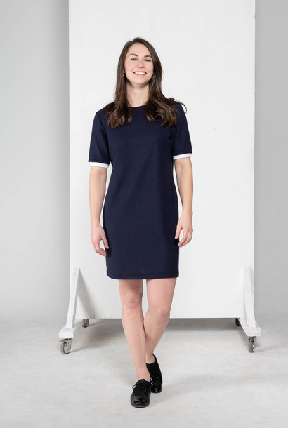 Sage - shorts sleeves dress