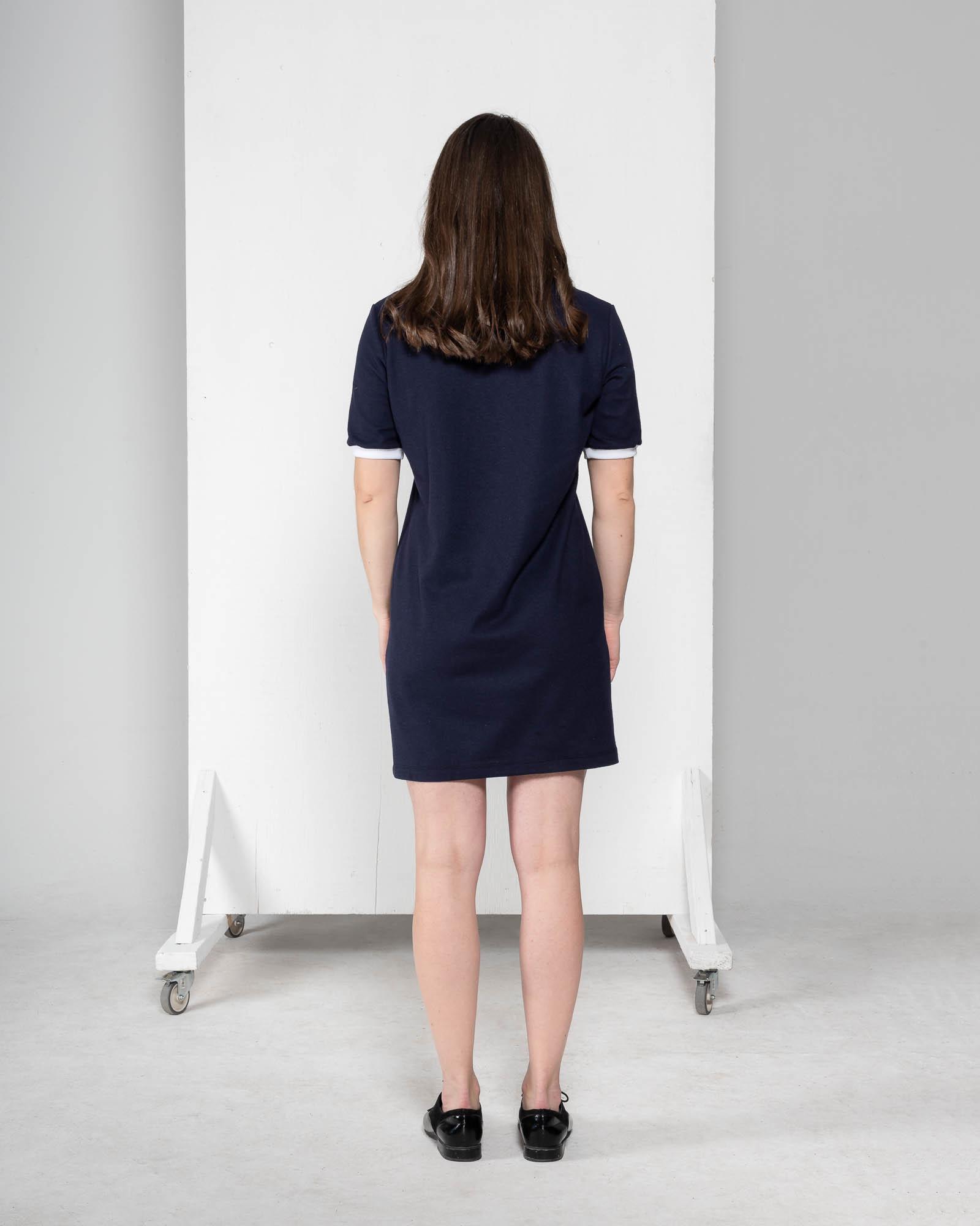 Sage - robe à manches courtes-2