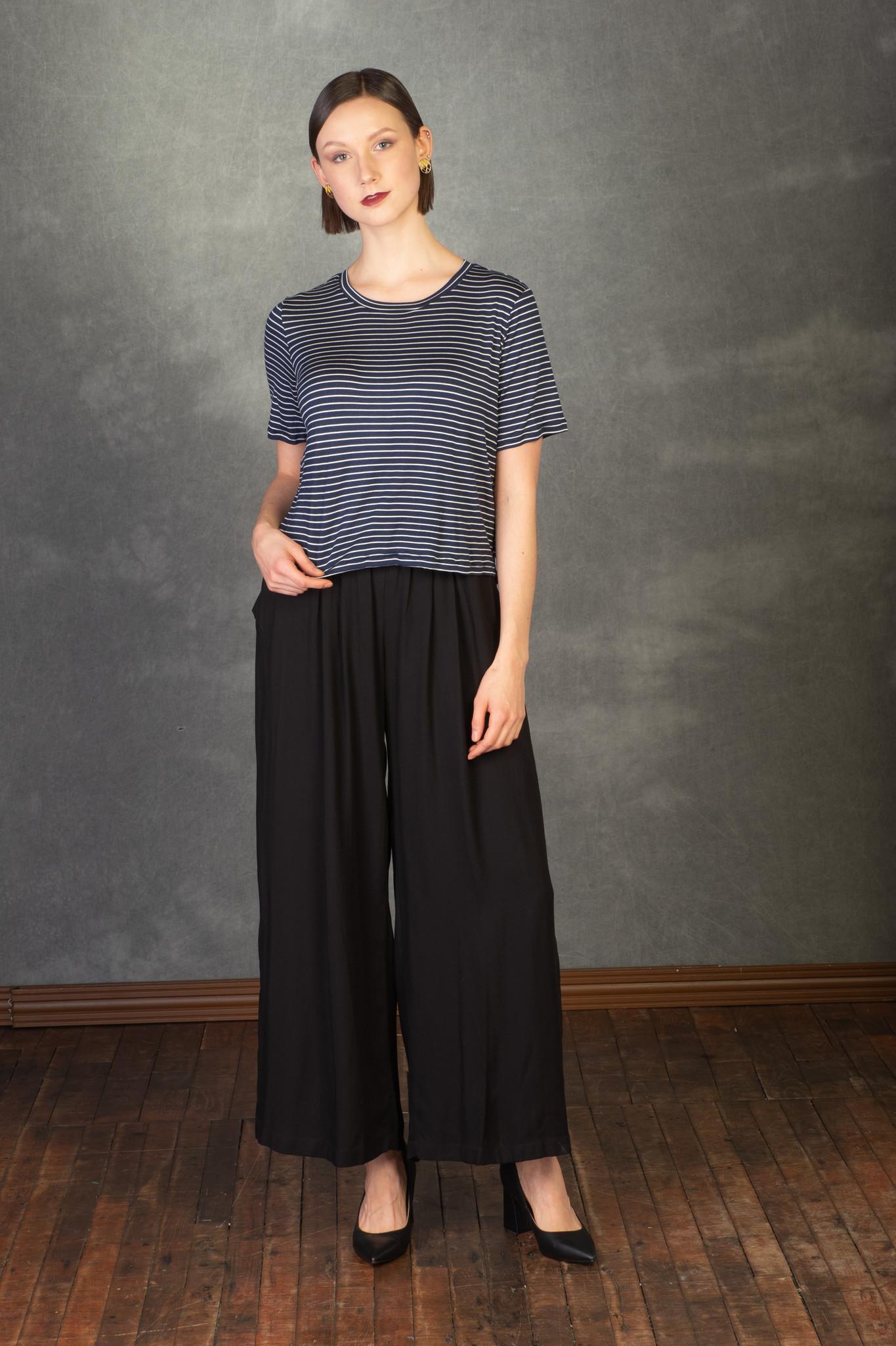Ayla - t-shirt  blue-1