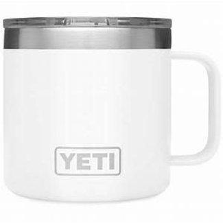 Yeti Rambler 14 oz Mug White