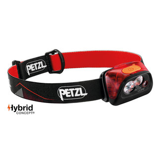 Petzl Actik Core Lamp Red