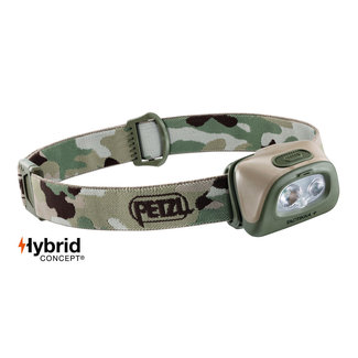 Petzl Tactikka+ Headlamp Camo