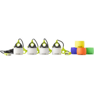 GoalZero LIGHT-A-LIFE MINI 4-PACK W/ COLOR SHADES