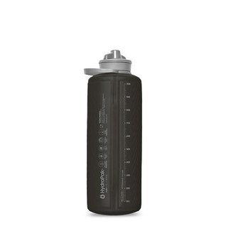 HYDRAPAK USA Flux Bottle 1L Mammoth Gray