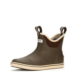 XtraTuff Men's 6in Ankle Deck Boot Choc/Tan