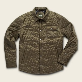 Howler Brothers Lightning Quilted Jacket Fatigue