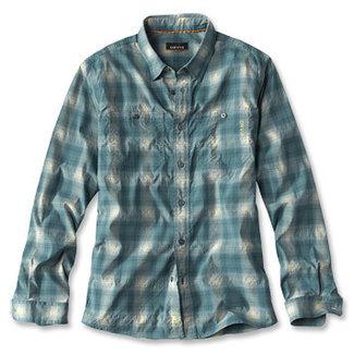 Orvis Johnson Fork Tech Shirt L/S Trpic