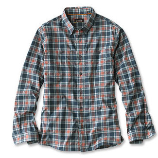 Orvis Johnson Fork Tech Shirt L/S Atlnc