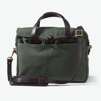 Filson Rugged Twill Original Briefcase Otter Green
