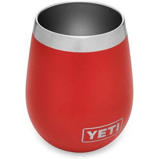 Yeti Rambler 10 oz Wine Tumbler Canyon Red