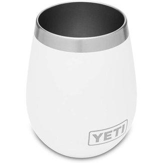 Yeti Rambler 10 oz Wine Tumbler White