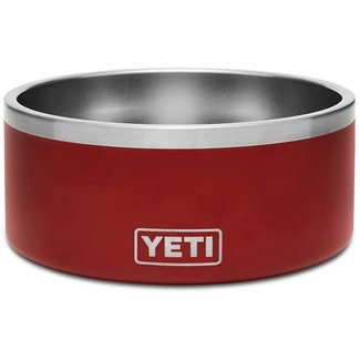 Yeti Boomer 8 Dog Bowl Brick Red