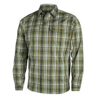 Sitka Globetrotter Shirt LS Cargo Plaid X Large