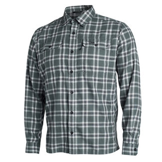 Sitka Frontier Shirt Lead Plaid XX Large