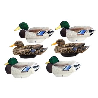 Lifetime Decoys Flexfloat Flocked Mallard 6 Pack