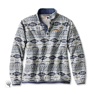 Orvis Printed Outdoor Quilted Swtshrt