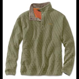 Orvis Outdoor Quilted Snap Sweatshirt