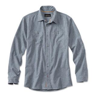 Orvis Tech Chambray LongSleeve Work Shirt