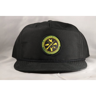 Gadget Co. Sportsman's Patch Black Rope Hat