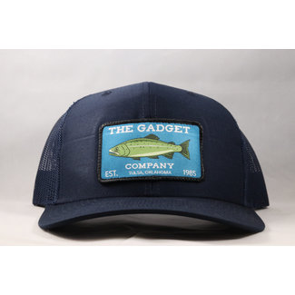 Gadget Co. Trout Patch Navy Trucker