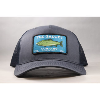 Gadget Co. Trout Patch Ombre Blue/Dark Navy 5-Panel Trucker