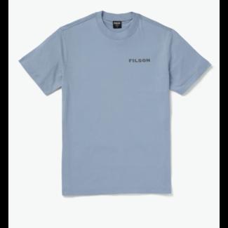 Filson S/S Ranger Graphic T-Shirt BlueCCFish