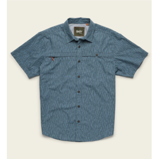Howler Brothers Tidepool Tech Shirt Deluge Camo Pacific Blue