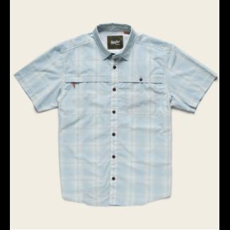 Howler Brothers Tidepool Tech Shirt Juno Plaid Sonic Blue
