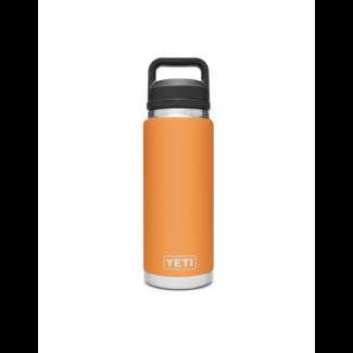 Yeti Rambler 26oz Bottle Chug King Crab Orange