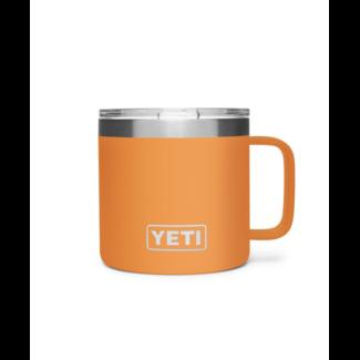 Yeti Rambler 14 oz Mug MS King Crab Orange