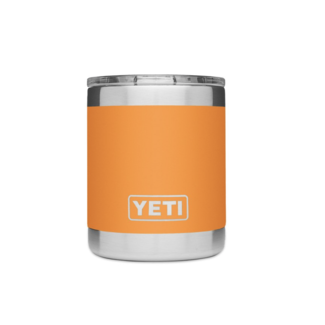 Yeti Rambler 10 oz Lowball MS King Crab Orange