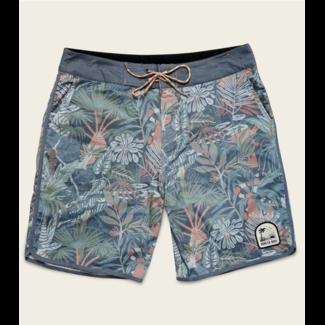 Howler Brothers Stretch Bruja Boardshort - Glades Print : Midnight Blue