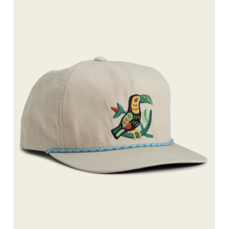 Howler Brothers Unstructured Snapback - Toucan : Off White