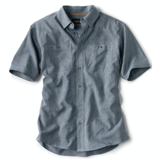 Orvis Tech Chambray SS Work Shirt