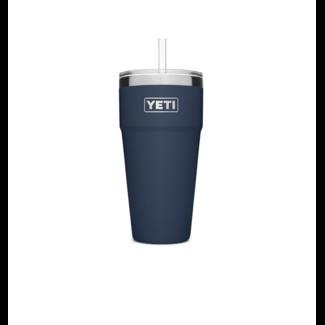 Yeti Rambler 26 oz Straw Cup Navy