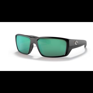 Costa Fantail Pro 11 Matte Black W/ Green Mirror 580G