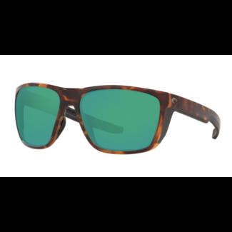 Costa Ferg 191 Matte Tortoise w/ Green Mirror 580G