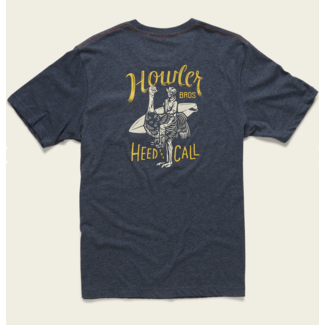 Howler Brothers Select Pocket T - Rodeo Ostrich : Navy