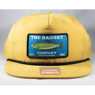 Gadget Co. Trout Patch Biscuit Rope Hat