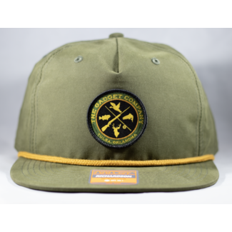 Gadget Co. Sportsman Patch Loden Rope Hat
